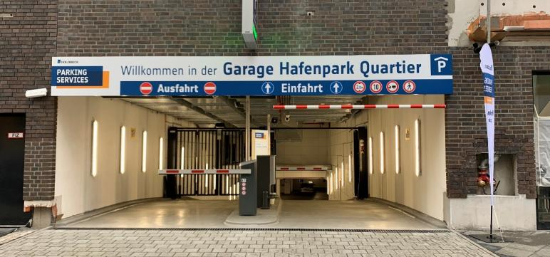 Garage Hafenpark Quartier
